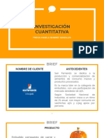 Estudio de Salchicha Huachana bajo la marca San Fernando - Investigación Cuantitativa