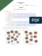 Guía de Matemática Unidades Decenas