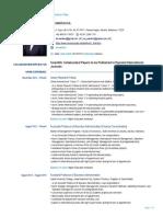 Resume - Ari Warokka, PhD - As of 25 August 2017 (European Union Format)