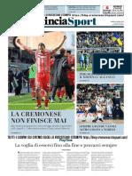 La Provincia Di Cremona 29-04-2019 - Sport