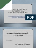 Archivología y Museología