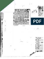 FBI Dossier of J. Edgar Hoover (FOIA Declassified), Part 6b