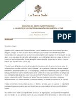 P. Fco. DSI. Pontificia Comisión AL