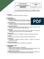 P-COR-SE-02.01 Capacitación, Inducciones y Competencias