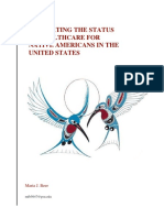 evaluating the status of healthcare for native americans in the united states ~ maria beer