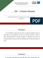 circuito rc corrente alternada apresentação.pdf