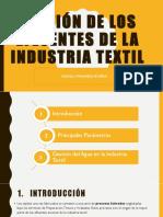 Exposicion Gestión de Los Efluentes de La Industria Textil[1] - Copia (1)