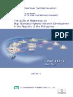 jica-dpwh study of masterplan on high standard highway network development in PH.pdf