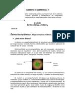Primer Tema de Quimica General, Estructura Atomica