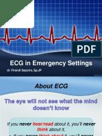 1. EKG, Emergency & Tatalaksananya