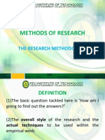 RESEARCH Lecture -methodology