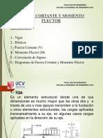 2.-Fuerzas Cortantes y Momentos Flectores (1).pptx