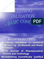 Cleaning Validation Presentation