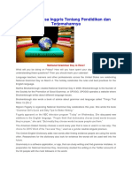 334069504 Artikel Bahasa Inggris Tentang Pendidikan Docx