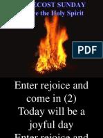 04.06.2017 Pentecost Sunday