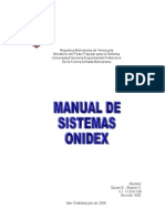 manual del sistema ONIDEX