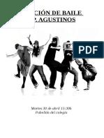 Programa Función Baile 2019