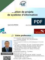 M2 CCA - GPSI / Gestion de Projets SI