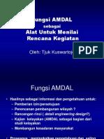 Fungsi Penilaian AMDAL