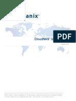 CloudNAS-2.2.0-UserManual-Windows