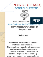Control Surveying r