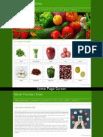 Online Vegetable Store Php Screens