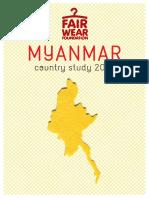 CS Myanmar 2016