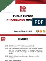 Presentasi Public Expose 2019 - Eng