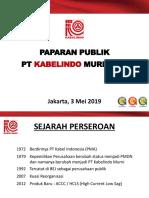 Presentasi Public Expose 2019 - Ind