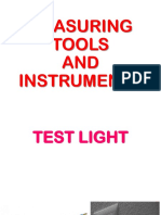 Measuring Tools and Instruments in  EIM
