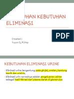 Kd Eliminasi 1