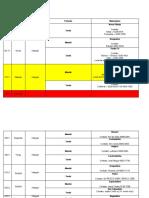 Agenda Balde Cheio - NOVEMBRO 2010 - Região Norte