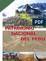 Album Patrimonio Nacional Del Peru