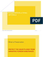 20 Preservation of Piping Materials