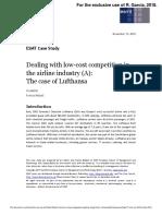 Caso a Lufthansa