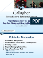 Risk Management Schools