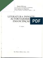 Literatura Infantil Autoritarismo e Emancipação