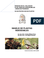 A Manejo de Plantas Indeseables, 2004