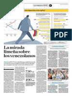 La Mirada Limeña Sobre Los Venezolanos