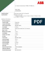 1KGT036500R0001 Analog Input Module Ma v 8 Channels (2)