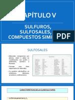 Cap. V - SULFUROS, SULFOSALES Y COMPUESTOS SIMILARES.pptx
