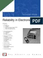 Listrik Reliability in Electronic