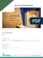 Hamstech Institute of Creative Education
