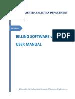 MSTD_BillingSoftware_ User Manual Ver 1.01