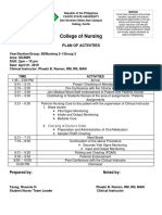 Plan of Activity