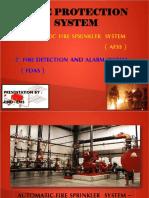 AFSS & FDAS - Techincal Report