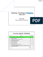 Welding Lectures1-4_Casting, Forming & Welding