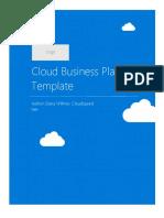 Cloud Business Plan Template 1