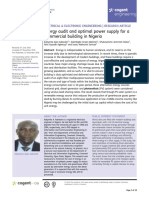 Energy audit and optimal power supply for a commercial building in Nigeria.pdf