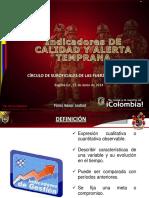 PRESENTACION CAPACITACION INDICADORES DE CALIDAD Y ALERTA TEMPRANA 2014.pdf